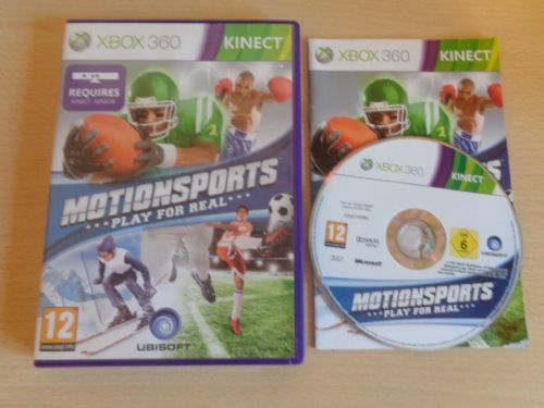 Motion Sports Kinect (Xbox 360)